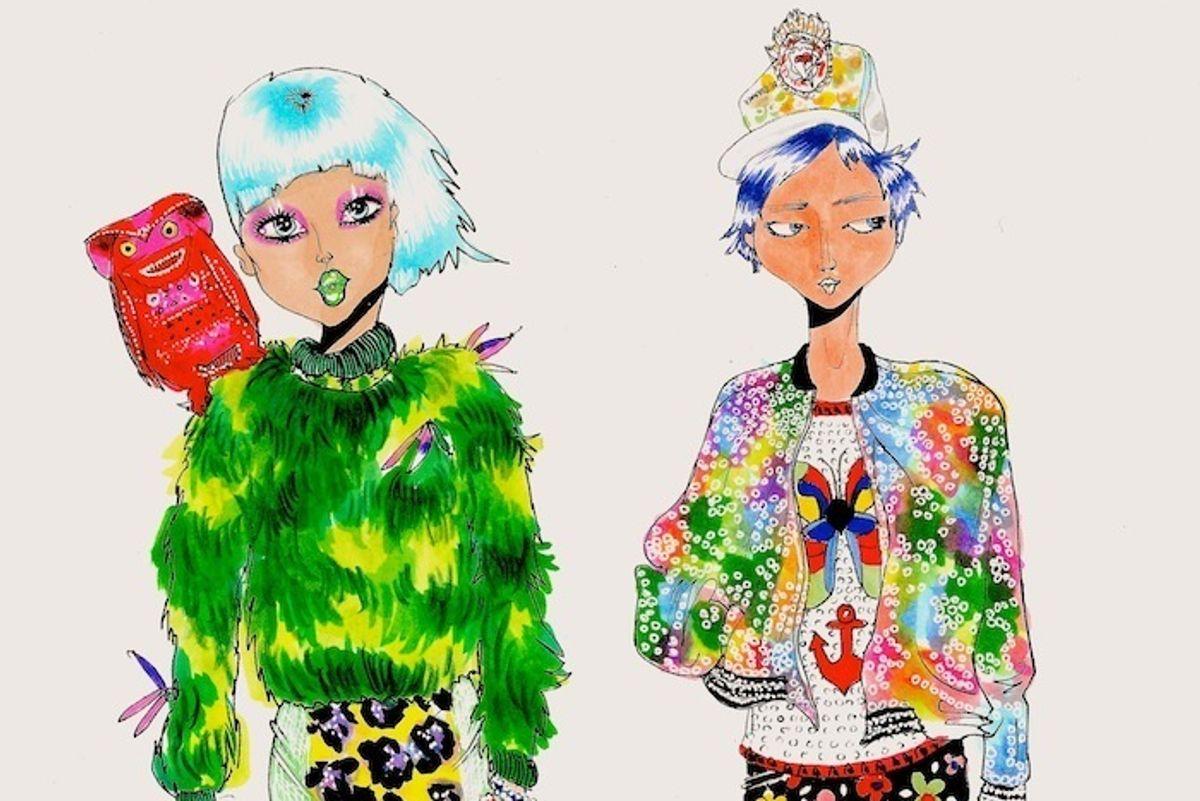 Style Fiends: Rainbow Brites for Rainbow Nights