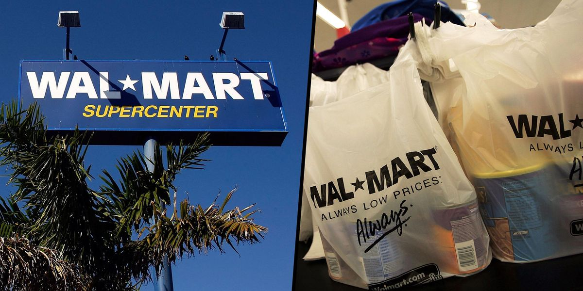 Walmart Is Removing Plastic Shopping Bags From All of Their Stores