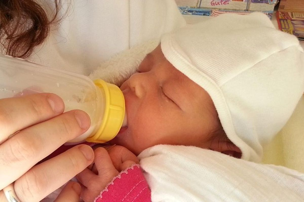 New report shows that bottle-fed kids' IQs are just as high as breastfed babies by age 16