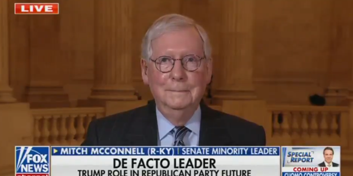Mitch McConnell Vows No Biden SCOTUS Confirmations In 2024 Or Any Other Year Containing A Number