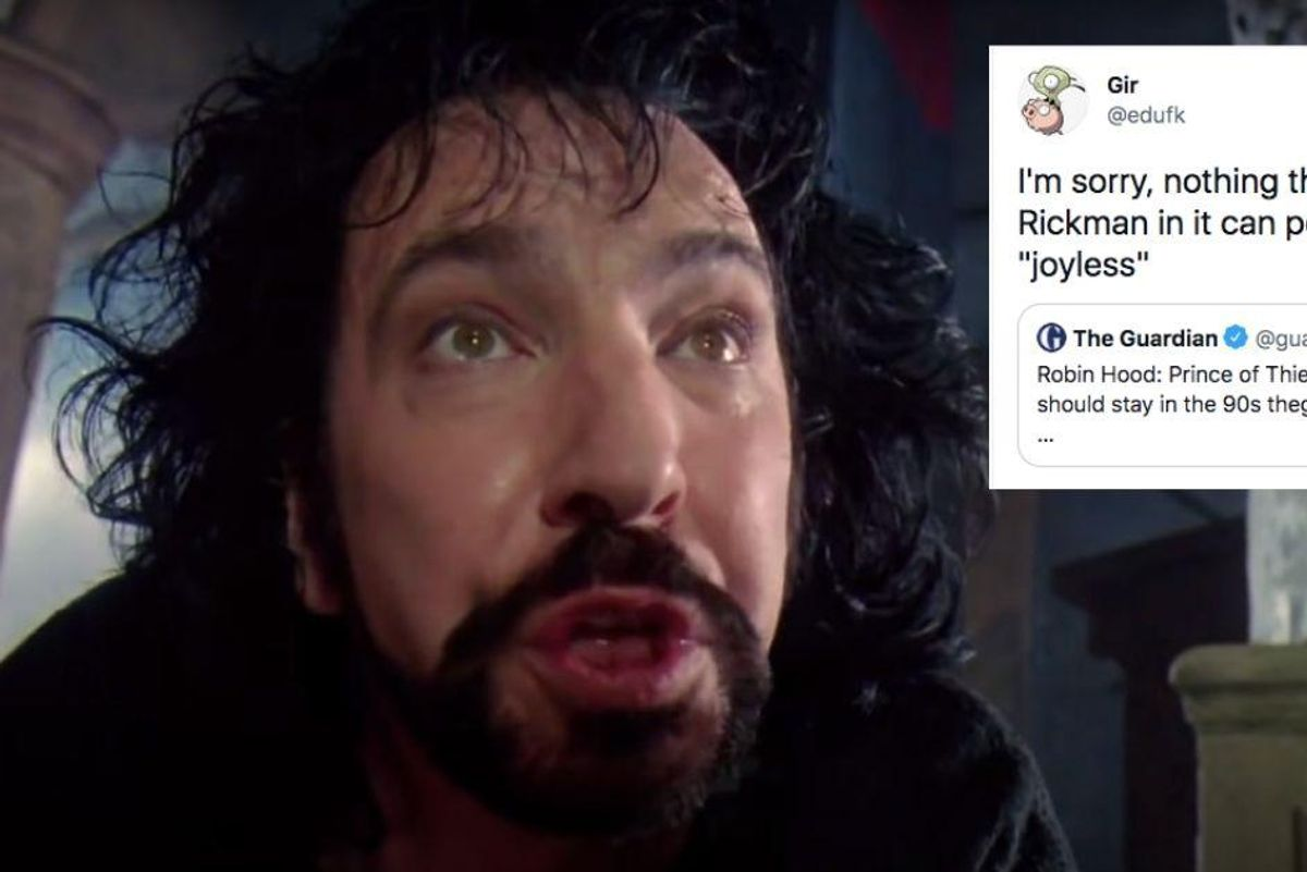 People turned the 30th anniversary of `Robin Hood: Prince of Thieves` into a viral Alan Rickman lovefest