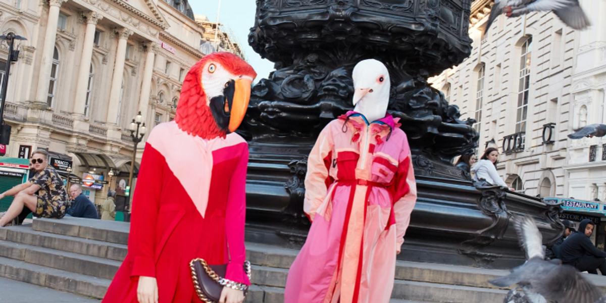 Wild Animals Roam London In Stella McCartney's New Campaign