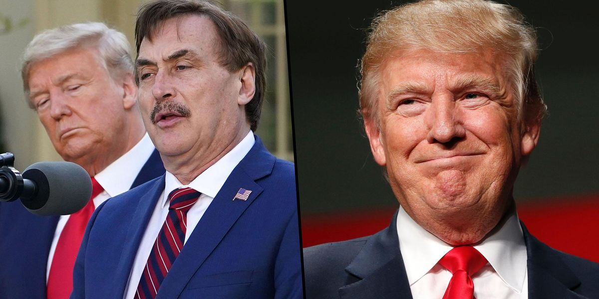 'My Pillow Guy' Says Trump Is the First President in His Lifetime 'Who Wasn't in It for the Ego'
