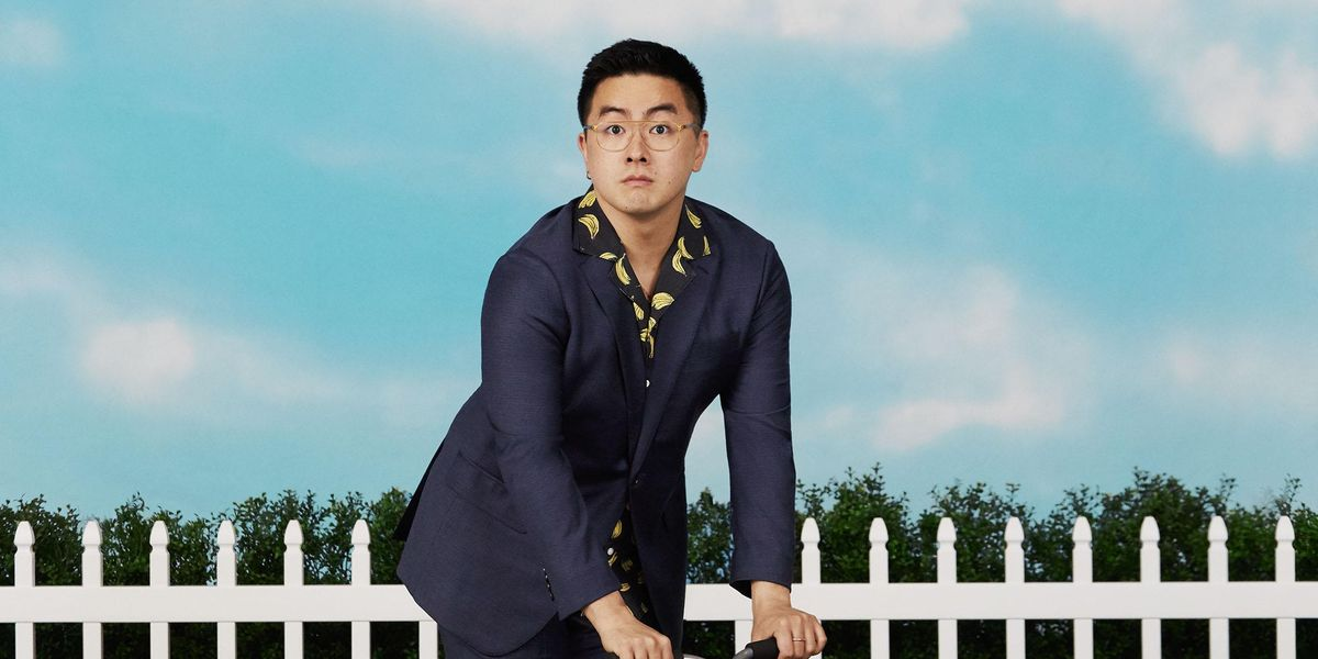 Bowen Yang Is a Very Extra Hamptons Dad In New Bonobos Campaign