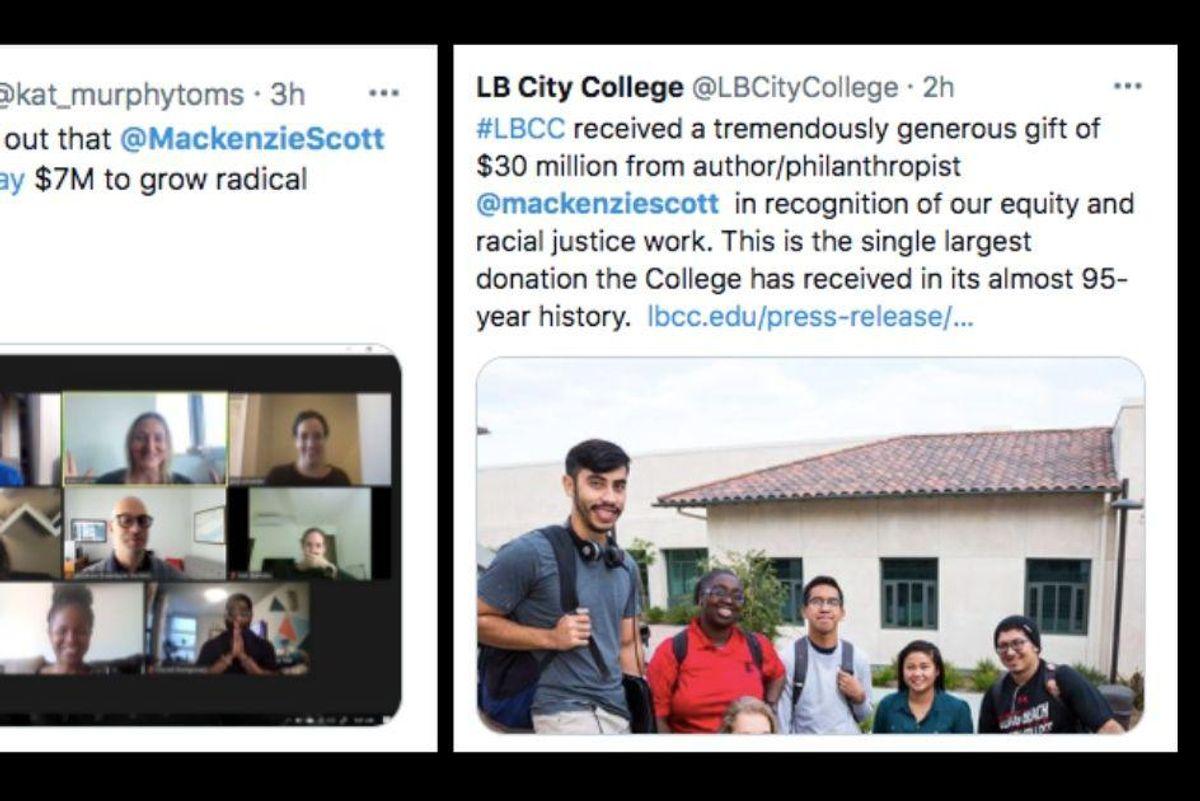 Here's who is getting MacKenzie Scott's latest $2.7 billion donation