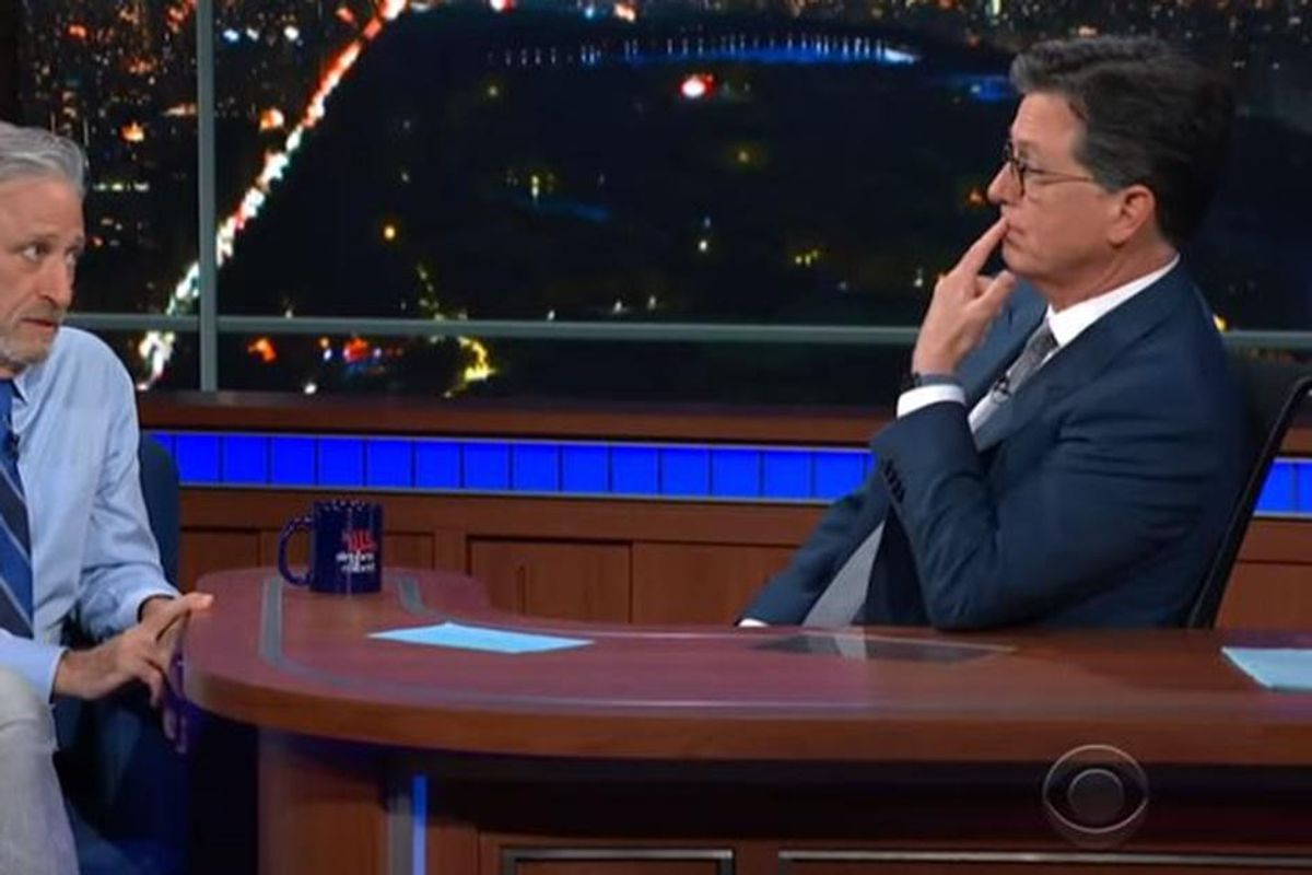 Jon Stewart returns to late-night TV to explain why the Wuhan lab-leak theory isn't so crazy