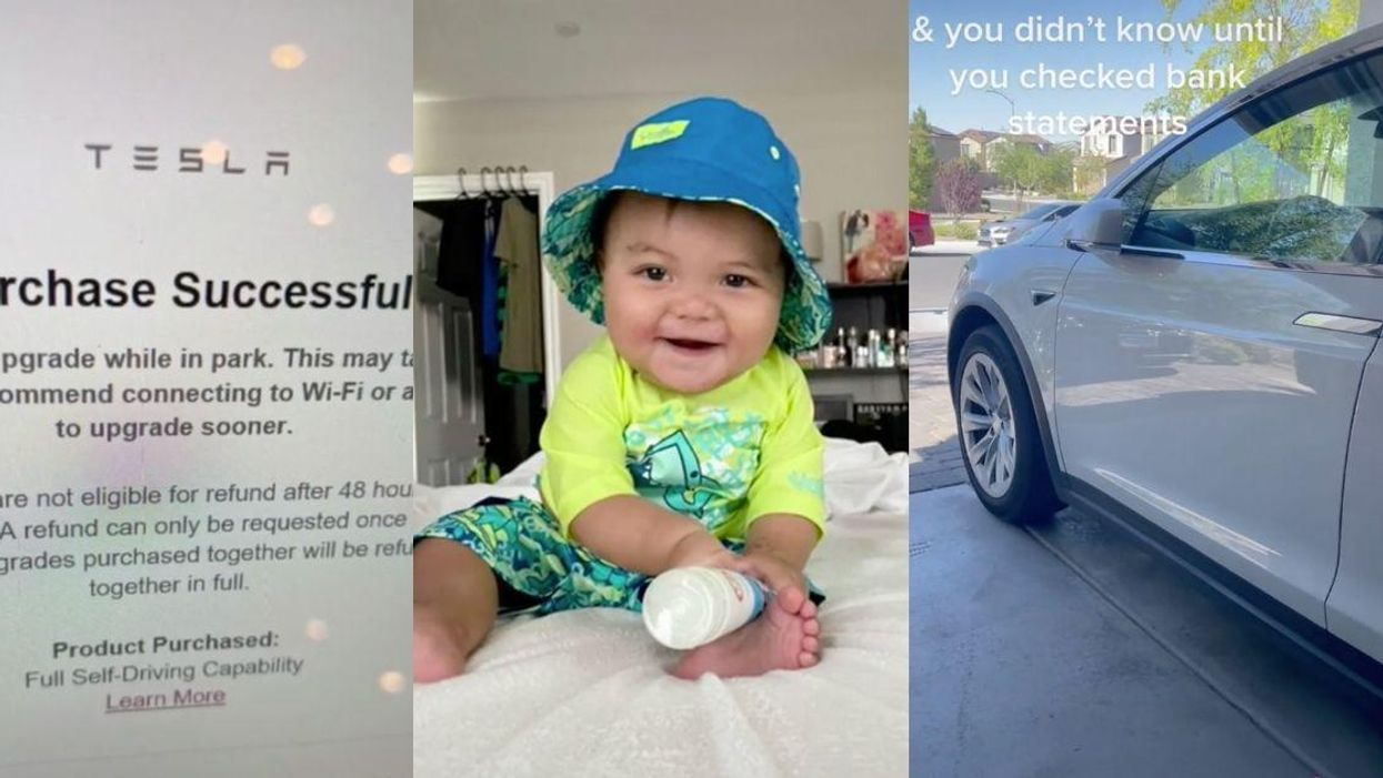 Stunned Mom Claims Her Infant Son Bought $10k Upgrade For Her Tesla Through App
