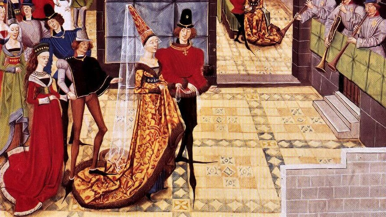 Just when the Middle Ages couldn't get worse, everyone had bunions
