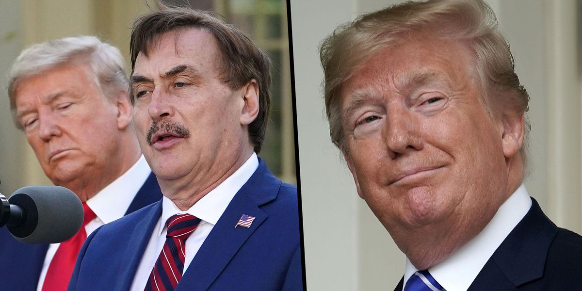Mike Lindell Says Trump Is the First President in His Lifetime 'Who Wasn't in It for the Ego'