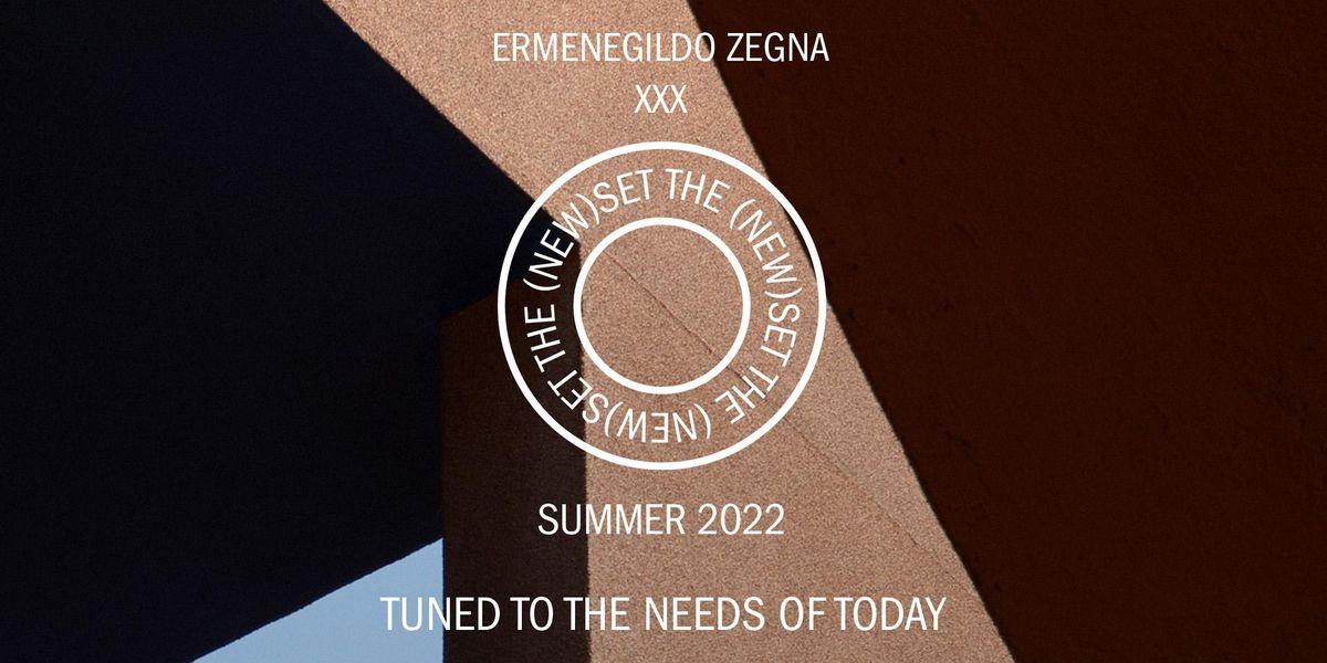 Watch the Ermenegildo Zegna XXX Show Live