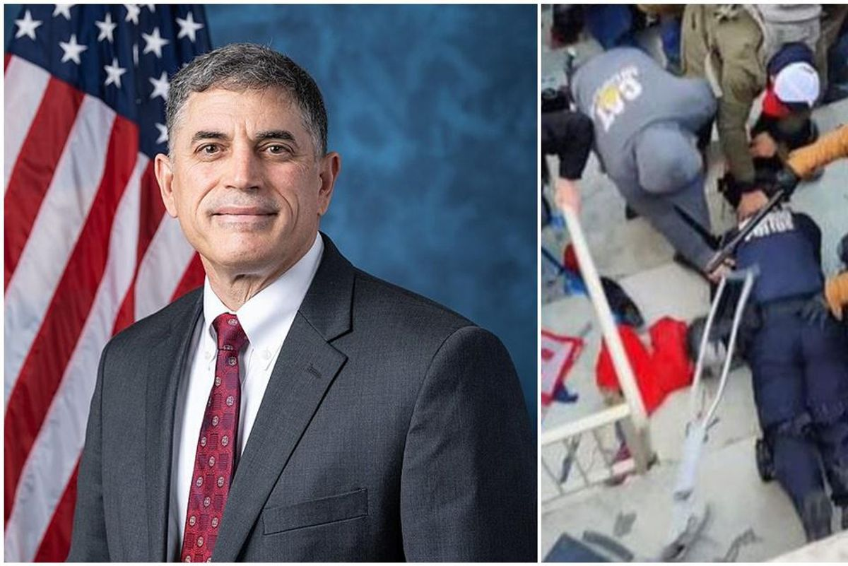 GOP Congressman refused to shake hands with police officer nearly killed in Capitol riot