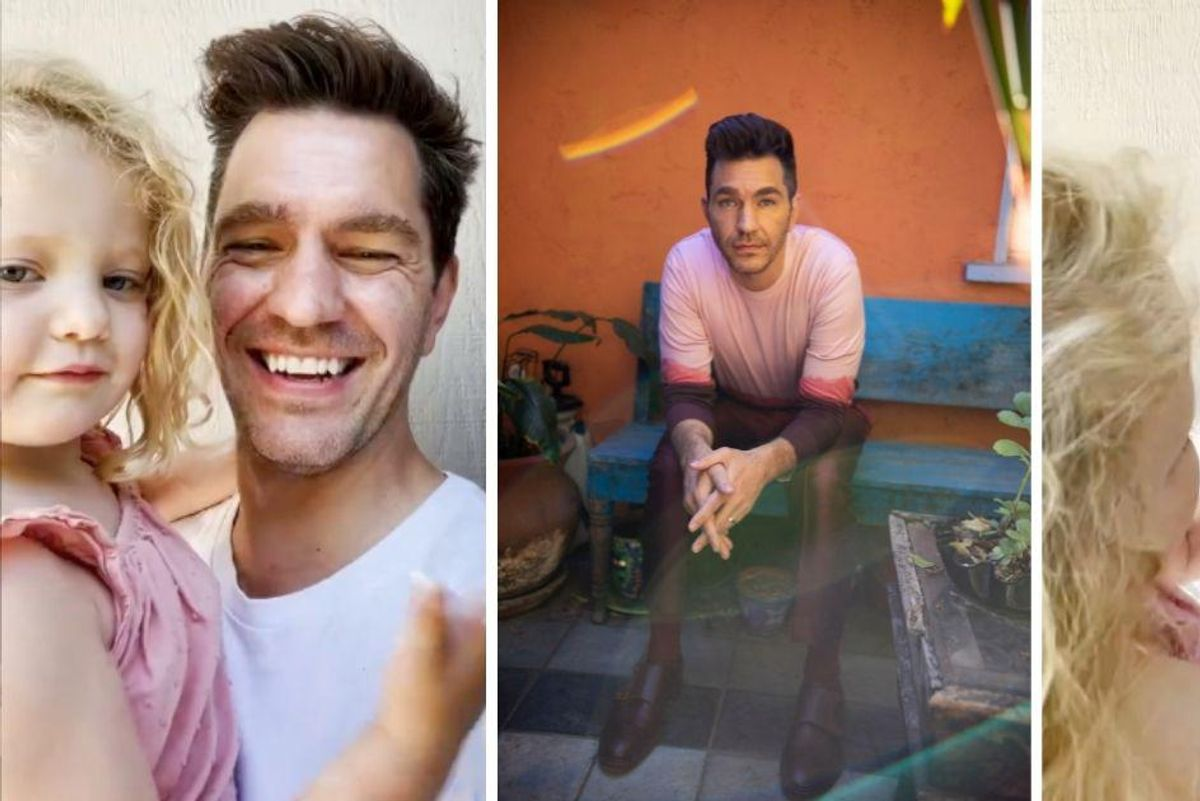 Andy Grammer and his 4-year-old daughter Louisiana want your help writing lyrics for a new song