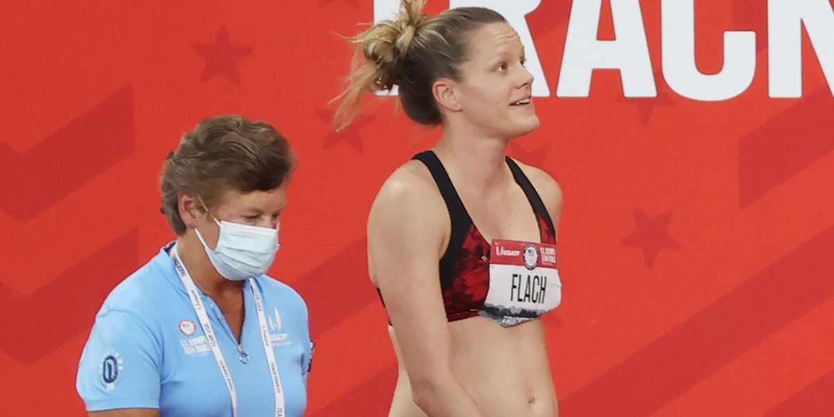 Heptathlete Lindsay Flach Competes in Olympic Trials While 18 Weeks Pregnant