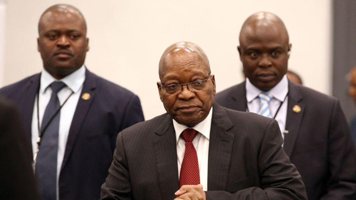 Former South African President Jacob Zuma Sentenced to Prison