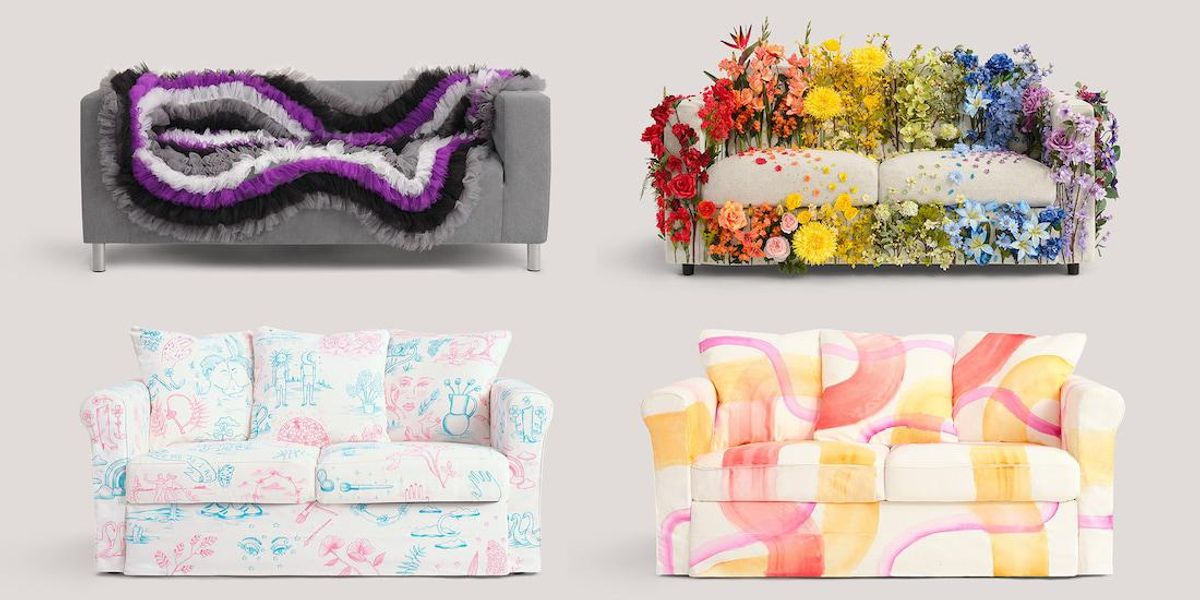 Ikea's Pride Couches Became Instant Memes