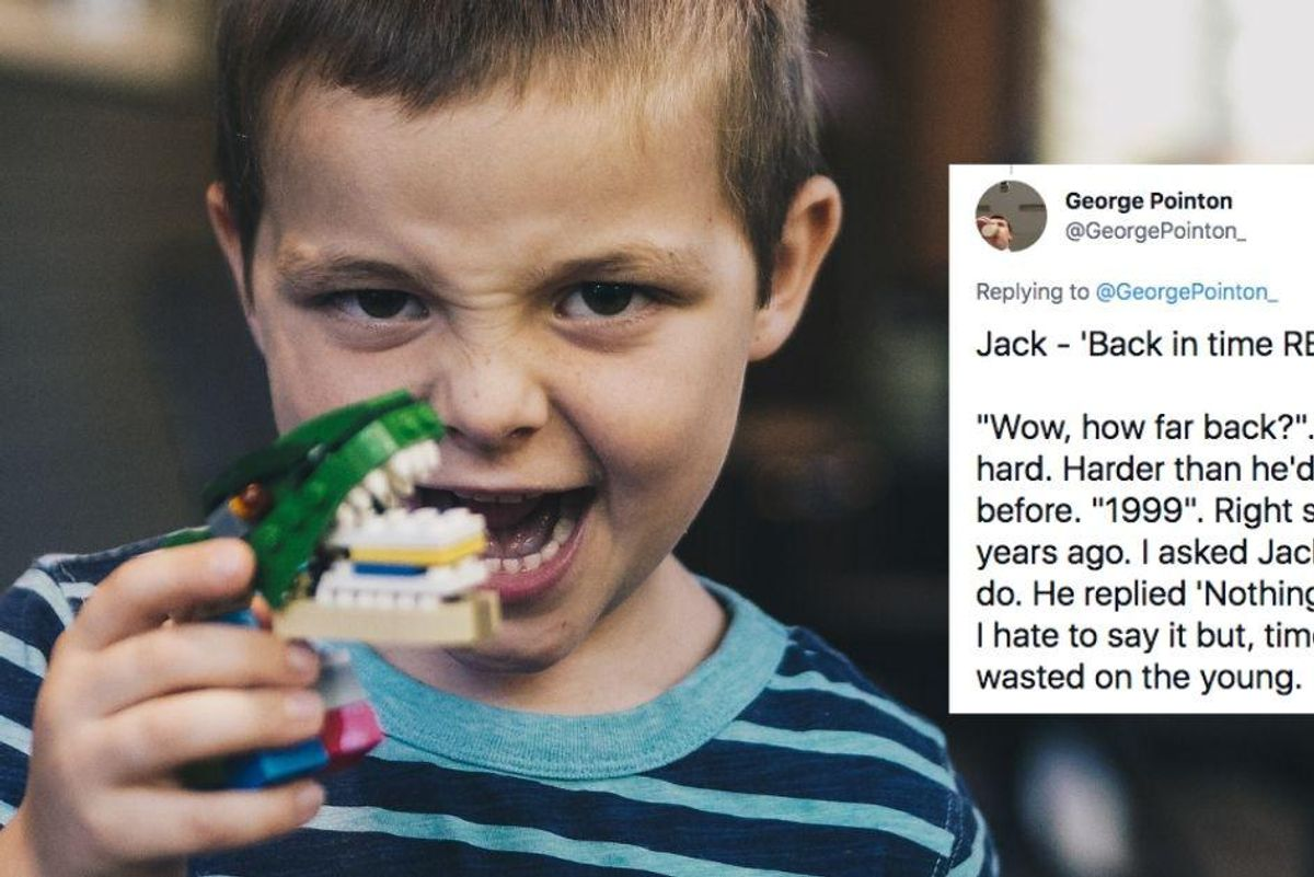 Kindergarteners were asked where they'd want to time travel and the answers are incredible