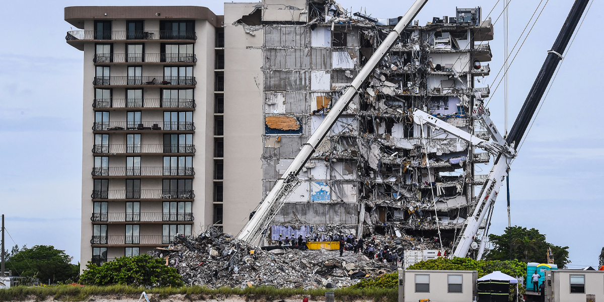 Son Says Parents Who Died in Miami Condo Collapse Were Found in Bed Together