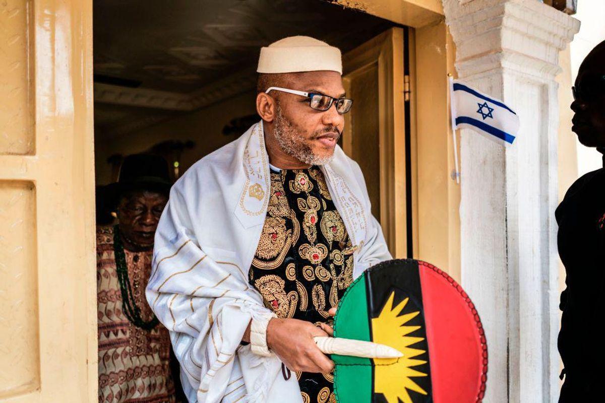 Nigerian Authorities Arrest Biafran Leader Nnamdi Kanu