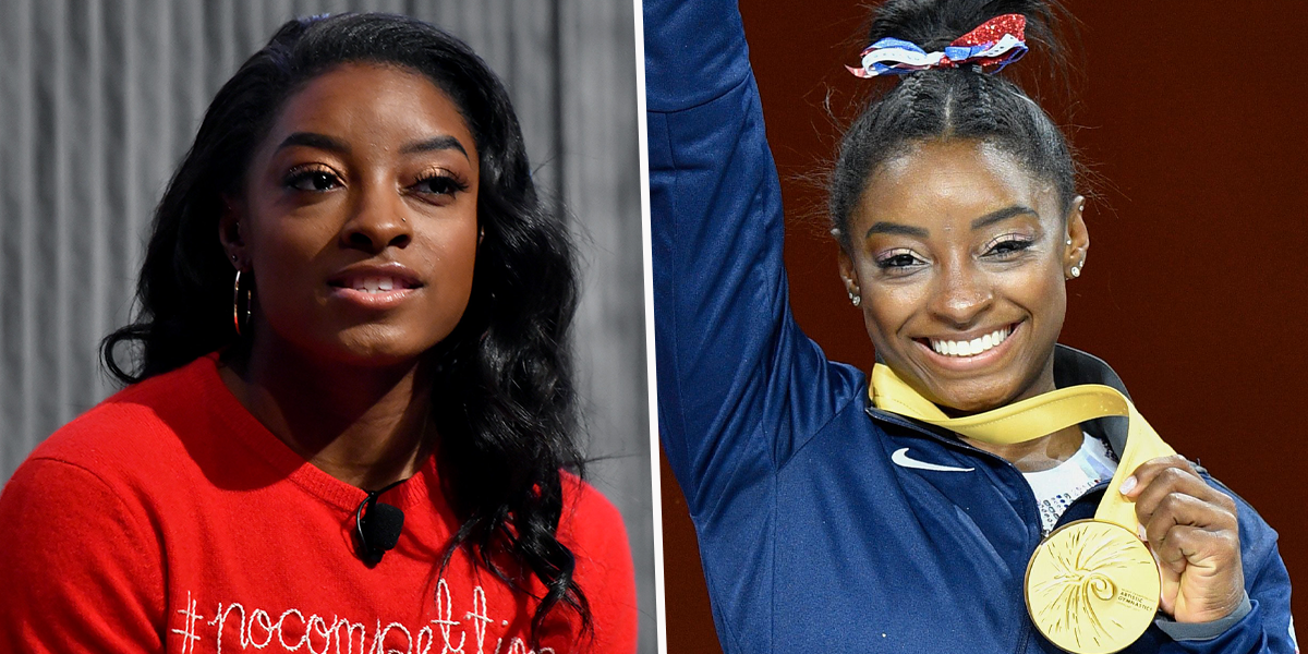 Simone Biles Remembers Going Hungry As a Kid Before Going Into Foster Care