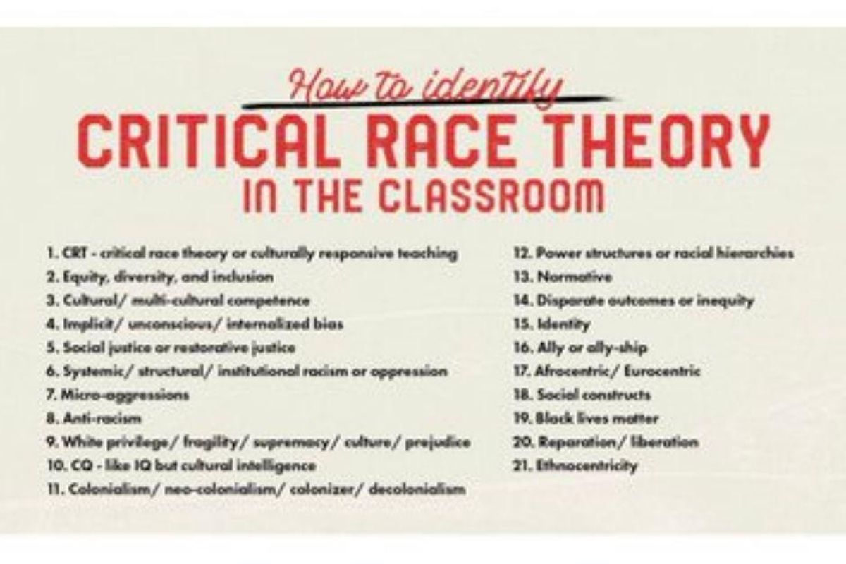 Texas policy group shares—then deletes—ridiculous list of critical race theory 'buzzwords'