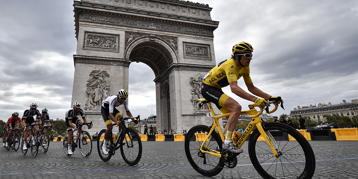 Tour de France Cyclist Who Broke Elbows and Wrists Wants to Sue Woman Who Caused Crash