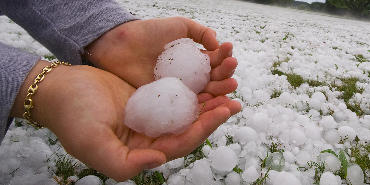 Texas' Largest Ever Hailstone Was Made Into Margaritas Before It Was Verified