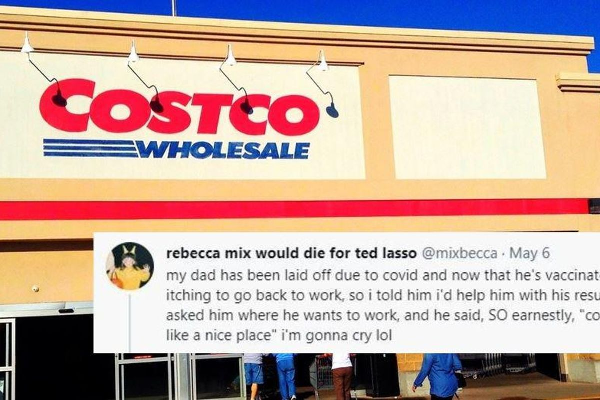 Daughter tweets that her laid-off dad wants a job at Costco. It got all the way to the CEO.