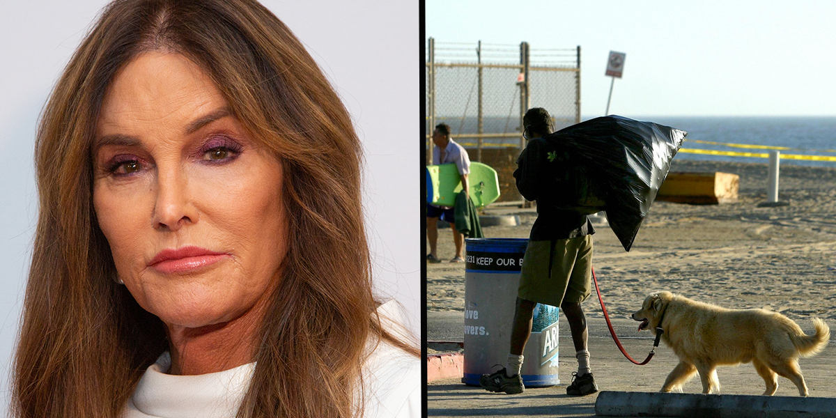 Caitlyn Jenner Wants To Move the Homeless to 'Open Fields' Because They're Destroying Venice Beach