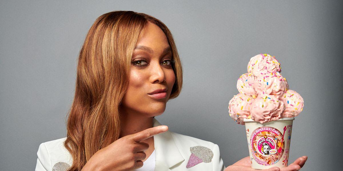 Tyra Banks Opens an Ice Cream Shop
