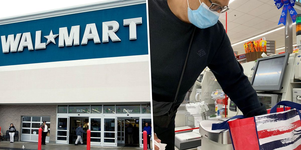 Walmart Store Switches to Self-Checkout Only