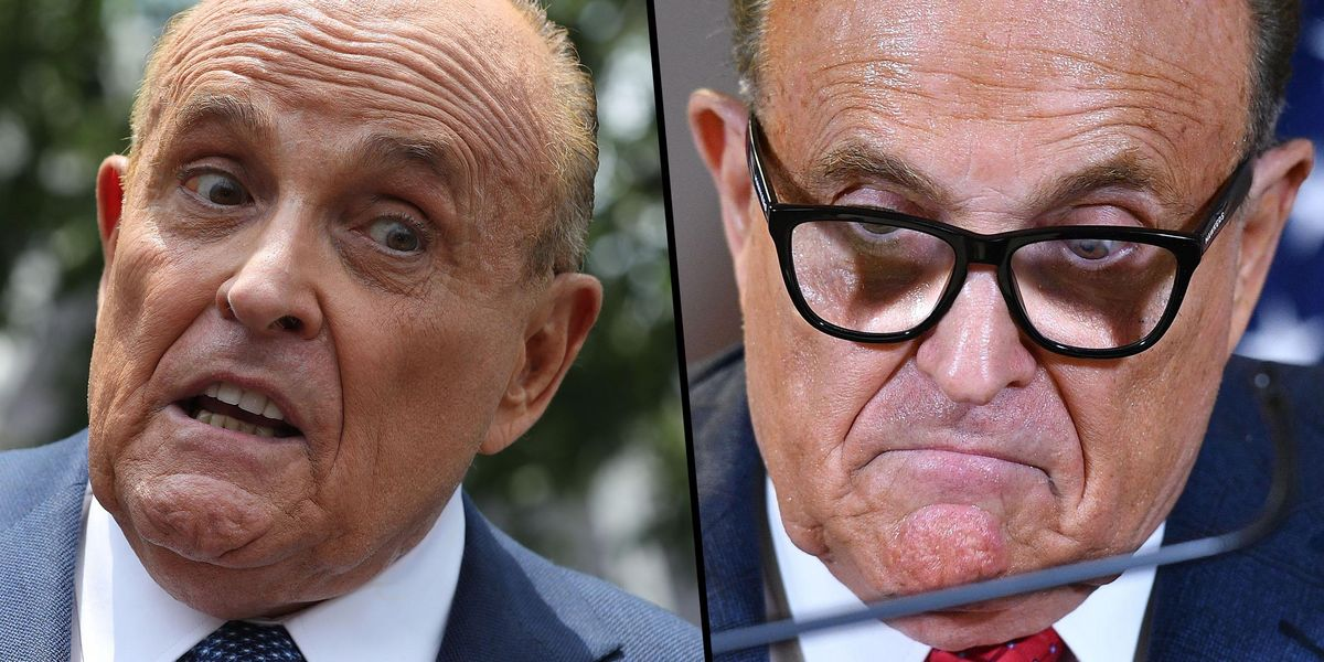 Rudy Giuliani Suspended From Practise of Law in New York