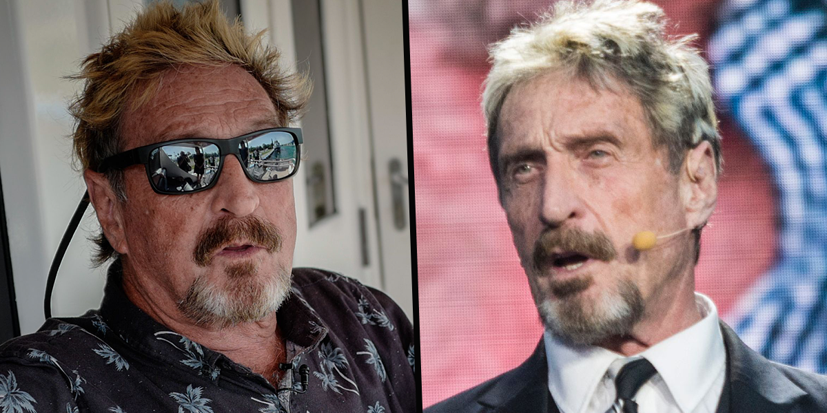 John McAfee's Old Tweet Goes Viral Sparking Conspiracy Theories Following His Death