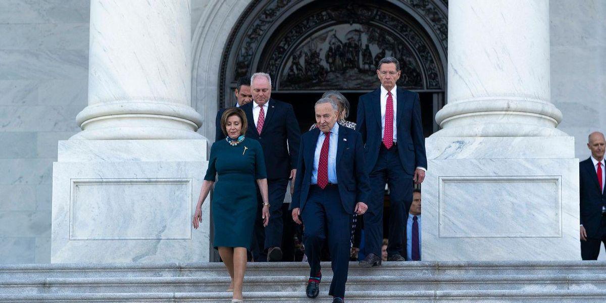 Senator Schumer Nancy Pelosi