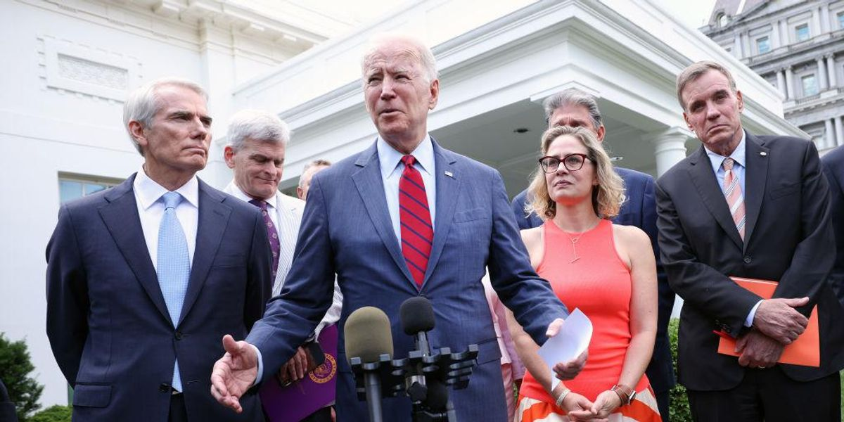 Biden announces deal on $1.2 trillion infrastructure plan, but it could easily collapse