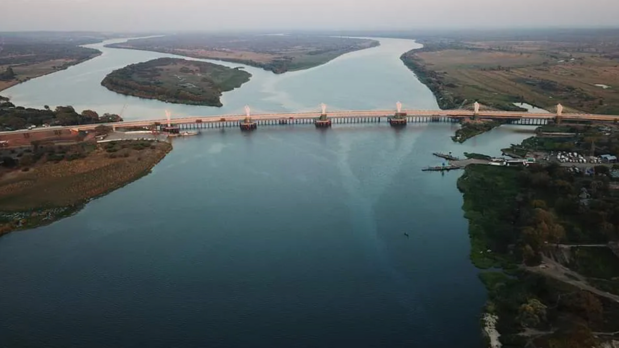 Why Africa's newest super-bridge is in the continent's weirdest border zone