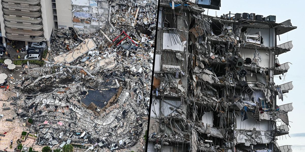 Collapsed Miami Building Was Sinking For Decades According to Researcher