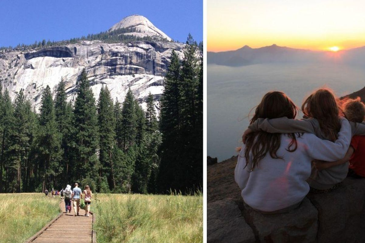 What you DON'T see in our idyllic family vacation photos