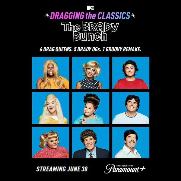'The Brady Bunch' Gets a 'Drag Race' Makeover