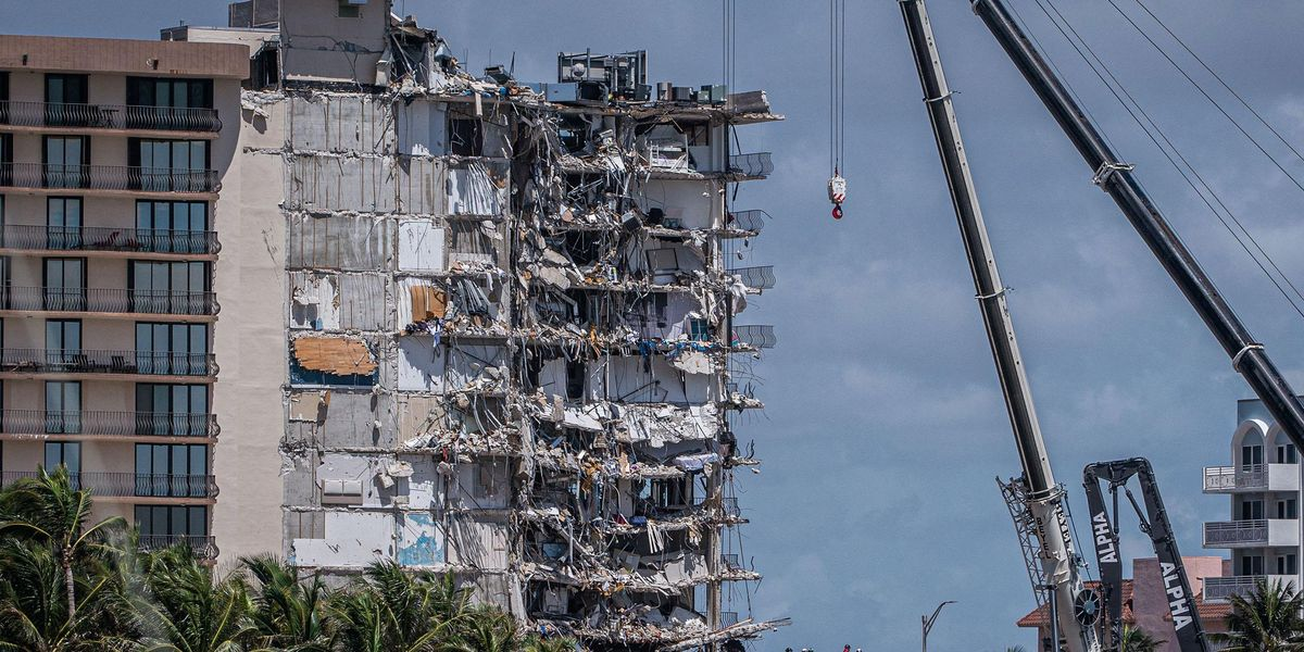 Chilling Footage Captured Inside Miami Condo Building Before Collapse