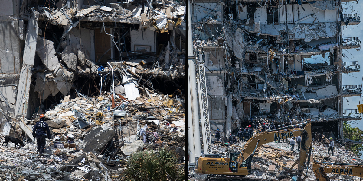 Mom Who Fell 4 Floors in the Miami Condo Collapse Pulled Herself and Her Daughter Out of the Rubble