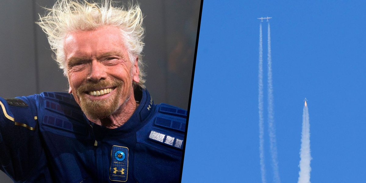 Richard Branson Becomes First Billionaire To Go to Space