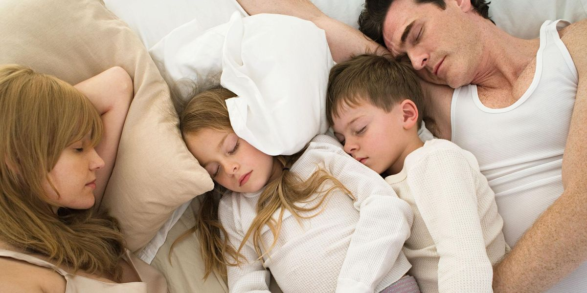 12-Foot 'Family Bed' Is Perfect for When Your Kids Refuse to Sleep On Their Own