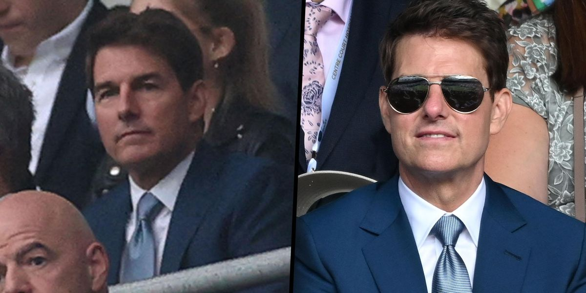 Theory Suggests Tom Cruise is a Clone After Appearing at Two Sporting Events in One Day