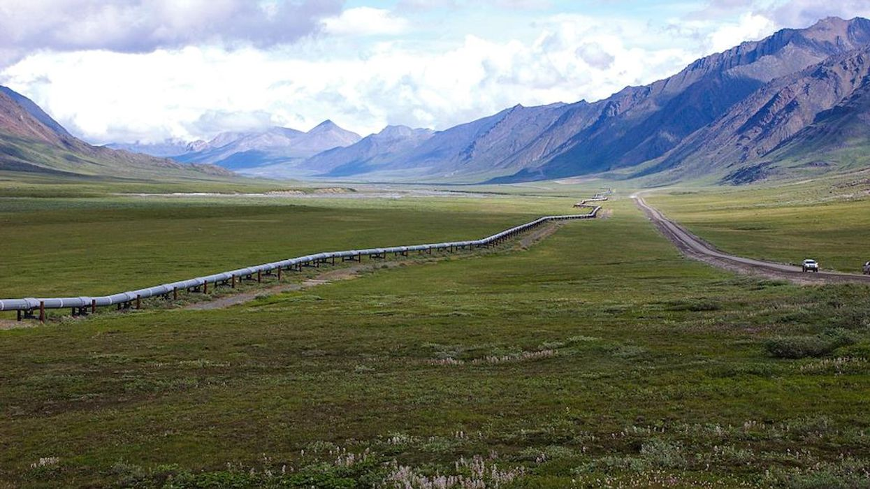 Rapidly Thawing Permafrost Threatens Trans-Alaska Pipeline