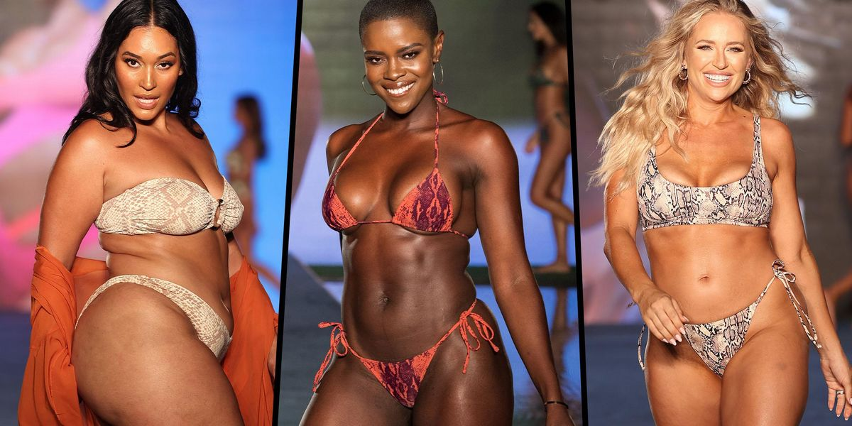 Sports Illustrated Celebrated For Diverse Runway Featuring Models of All Sizes and Backgrounds