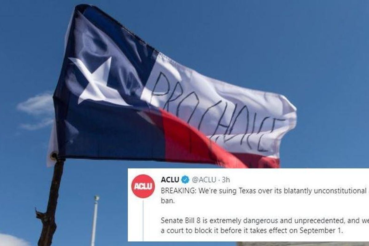 Texas is being sued for an abortion law that puts 'bounties' on people who help patients