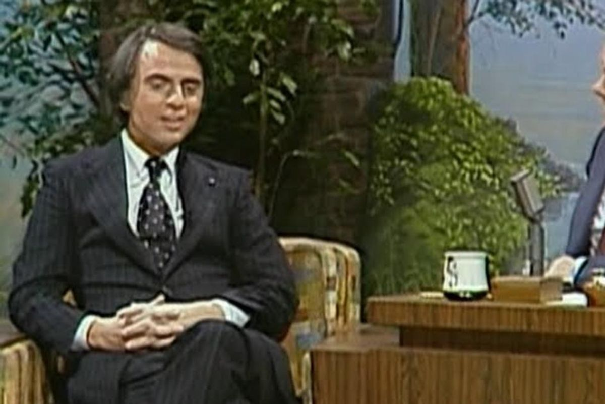 In 1978 Carl Sagan boldly called out 'Star Wars' for being too white
