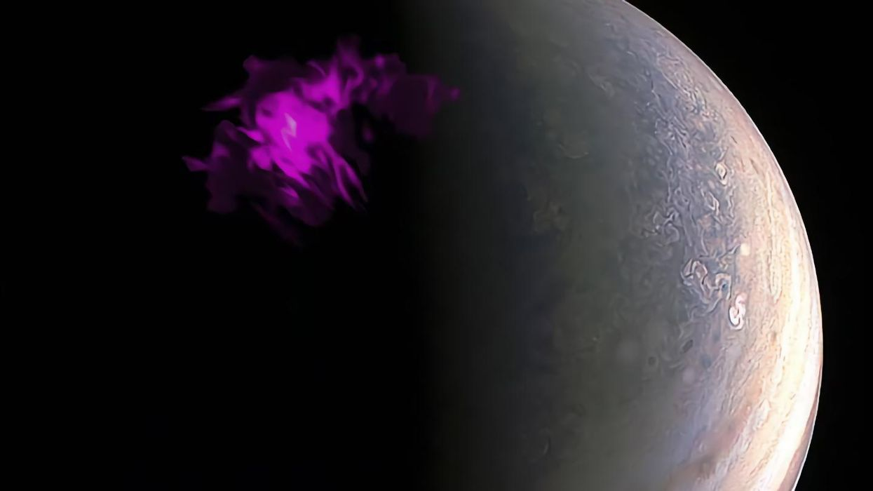 Every 27 minutes, there's an X-ray aurora on Jupiter. Here's why.