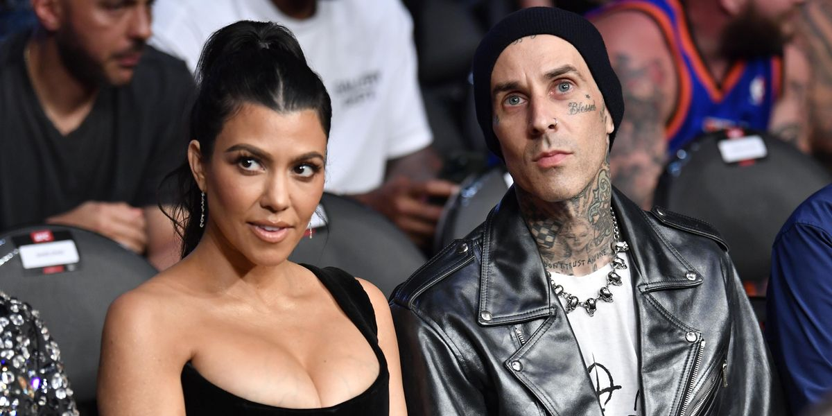 Did Kourtney Kardashian and Travis Barker Just Get Married?