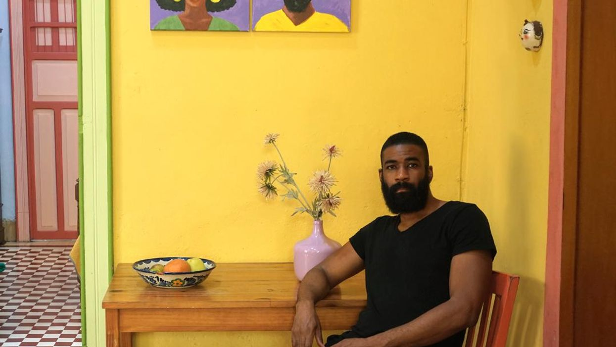 <div>Spotlight: Jamal Ademola's Exploration Of Self-Identity Through Mixed Media</div>